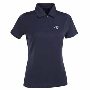 Los Angeles Rams Womens Exceed Polo (Color: Navy) - Medium