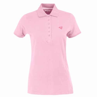 Los Angeles Rams Womens Spark Polo (Color: Pink)