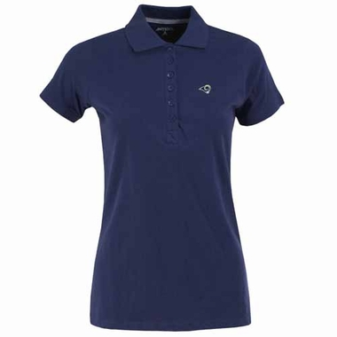 Los Angeles Rams Womens Spark Polo (Color: Navy)