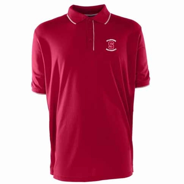 Stanford Mens Elite Polo Shirt (Color: Red)