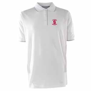 Stanford Mens Elite Polo Shirt (Color: White) - X-Large