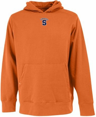 Syracuse Mens Signature Hooded Sweatshirt (Color: Orange)