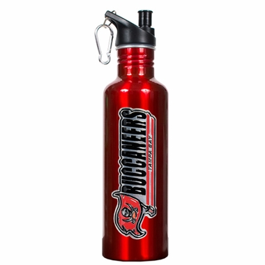 Tampa Bay Buccaneers 26oz Stainless Steel Water Bottle (Team Color)