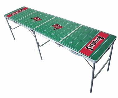 Tampa Bay Buccaneers 2x8 Tailgate Table