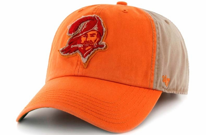 Tampa Bay Buccaneers 47 Brand Healey Garment Washed Adjustable Hat c9a7fdc0e81