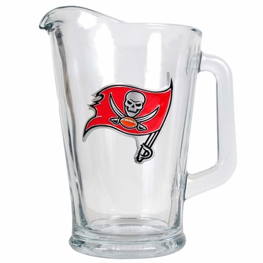 Tampa Bay Buccaneers 60 oz Glass Pitcher