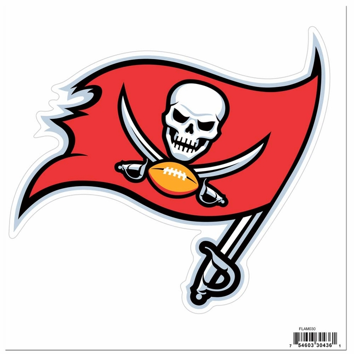 Tampa Bay Buccaneers 8 inch Logo Magnets (F)