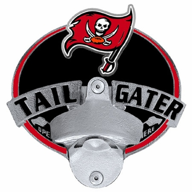 Tampa Bay Buccaneers Bottle Opener Hitch Cover