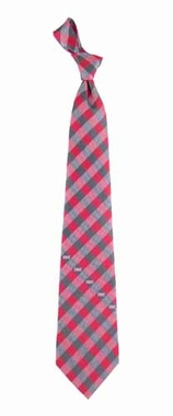 Tampa Bay Buccaneers Check Poly Necktie