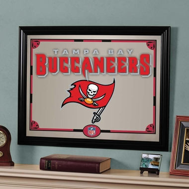 Tampa Bay Buccaneers Framed Mirror