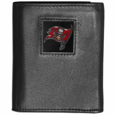 Tampa Bay Buccaneers Leather Trifold Wallet (F)