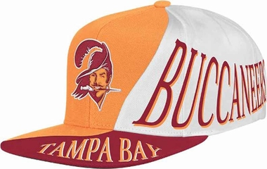 Tampa Bay Buccaneers Mitchell & Ness The Skew Retro Vintage Snap Back Hat
