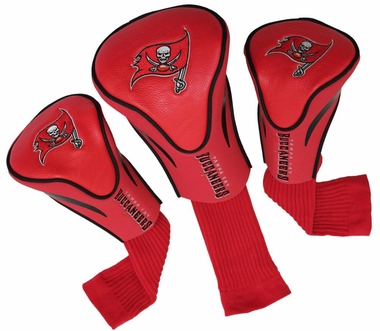 Tampa Bay Buccaneers Set of Three Contour Headcovers