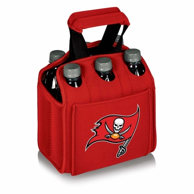 Tampa Bay Buccaneers Six Pack (Red)