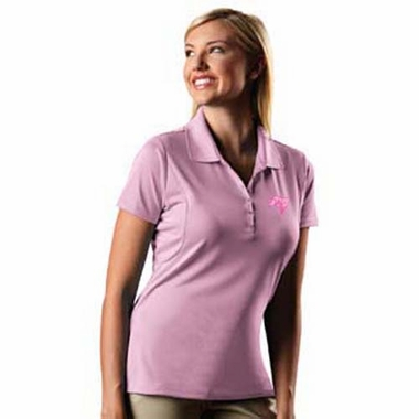 Tampa Bay Buccaneers Womens Pique Xtra Lite Polo Shirt (Color: Pink)