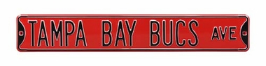 Tampa Bay Bucs Dr Street Sign