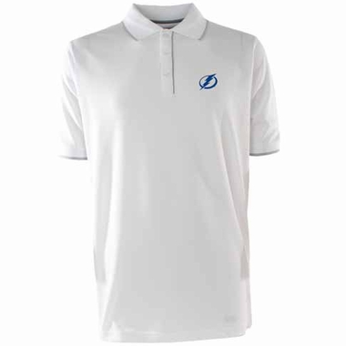 Tampa Bay Lightning Mens Elite Polo Shirt (Color: White)