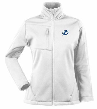 Tampa Bay Lightning Womens Traverse Jacket (Color: White)