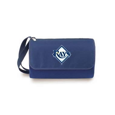 Tampa Bay Rays Blanket Tote (Navy)