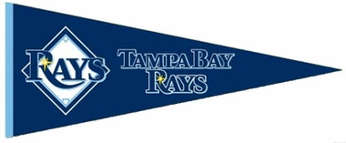 Tampa Bay Rays Wool Pennant