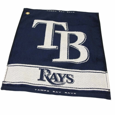 Tampa Bay Rays Woven Golf Towel