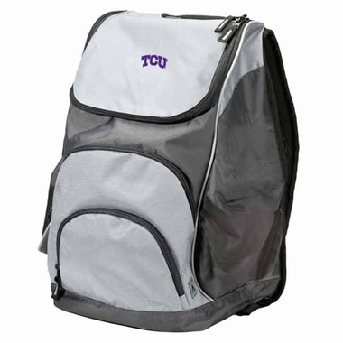 TCU Action Backpack (Color: Grey)