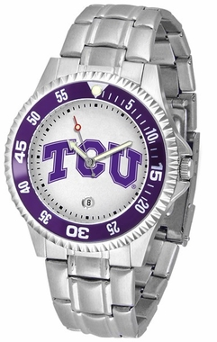 TCU Competitor Men's Steel Band Watch