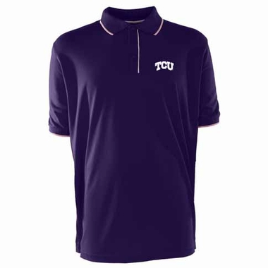 TCU Mens Elite Polo Shirt (Color: Purple)