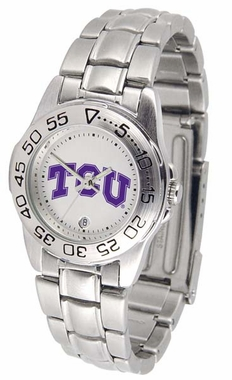 TCU Sport Women's Steel Band Watch