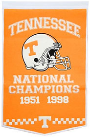 """Tennessee 24""""x36"""" Dynasty Wool Banner"""