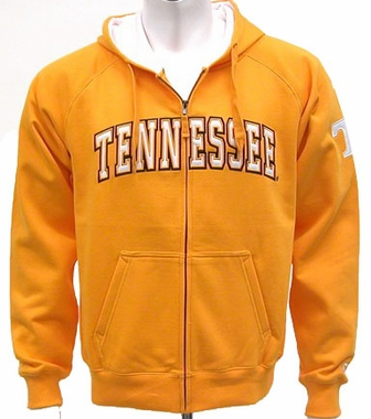 Tennessee Automatic Full Zip Hooded Sweatshirt (Team Color)