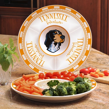 Tennessee Ceramic Chip and Dip Plate