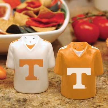 Tennessee Ceramic Jersey Salt and Pepper Shakers
