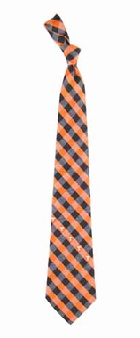 Tennessee Check Poly Necktie