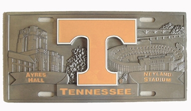 Tennessee Deluxe Collector's License Plate