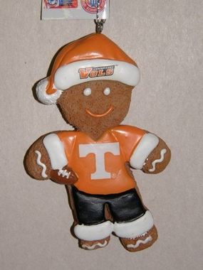 Tennessee Gingerbread Man Christmas Ornament
