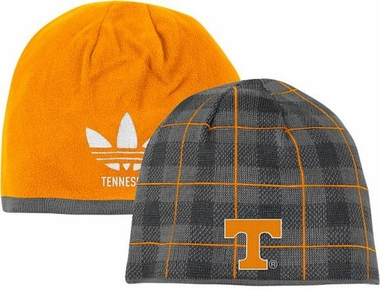 Tennessee Long Reversible Plaid Knit Hat