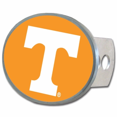 Tennessee Oval Metal Hitch Cover