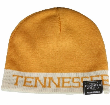 Tennessee Reversible Cuffless Knit Hat Beanie