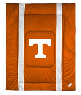 Tennessee SIDELINES Jersey Material Comforter