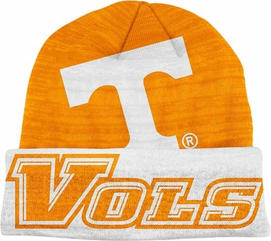 Tennessee Slanted Logo Cuffed Knit Hat