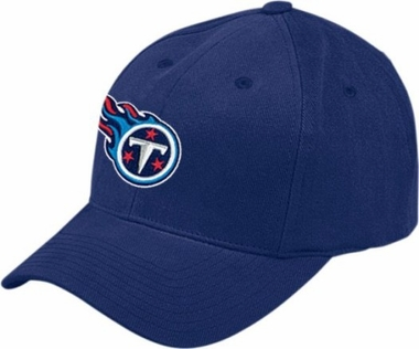 Tennessee Titans Basic Logo Adjustable Cotton Hat