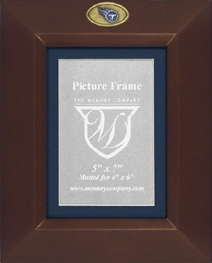 Tennessee Titans BROWN Portrait Picture Frame