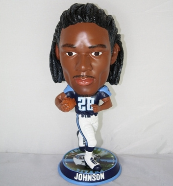 Tennessee Titans Chris Johnson 2010 Big Head Bobble Head