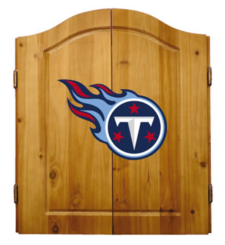 Tennessee Titans Complete Dart Cabinet