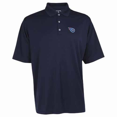 Tennessee Titans Mens Exceed Polo (Color: Navy)