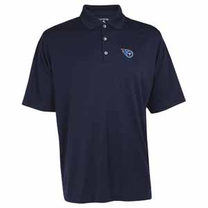 Tennessee Titans Mens Exceed Polo (Color: Navy) - Large