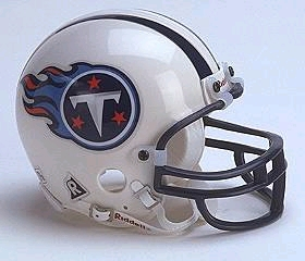 Tennessee Titans Replica Mini Helmet w/ Z2B Face Mask