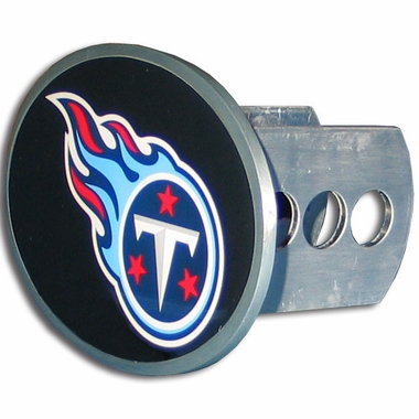 Tennessee Titans Oval Metal Hitch Cover