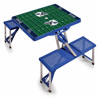 Tennessee Titans Picnic Table Sport (Blue)